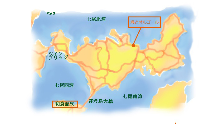 グラフに能登島